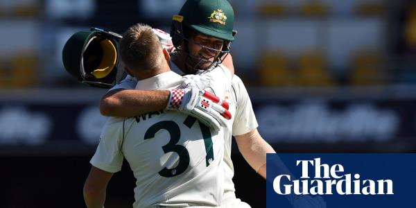 Centurion David Warner clicks with Joe Burns as Australia take control of first Test
