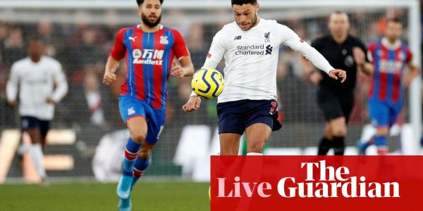 Crystal Palace v Liverpool, Arsenal v Southampton and more – live!