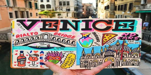 This Woman's Creative Travel Journal Will Inspire Your Next Adventure