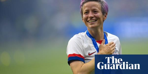 Megan Rapinoe's clean sweep is reward for her influence on and off field