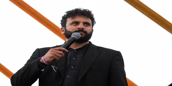 Nish Kumar Booed Off Stage And Pelted With Bread After Making Political Joke At Charity Gig