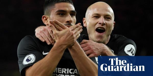 Brighton's Neal Maupay piles misery on Freddie Ljungberg's Arsenal at Emirates