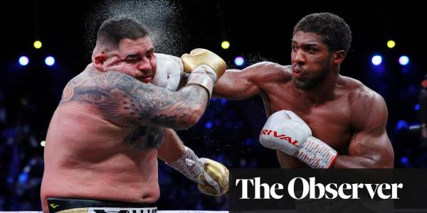 Anthony Joshua sours triumph over Andy Ruiz Jr with 'decapitate' line