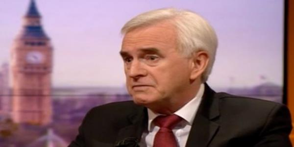 John McDonnell Concedes Anti-Semitism Allegations Could Hurt Labours Election Chances