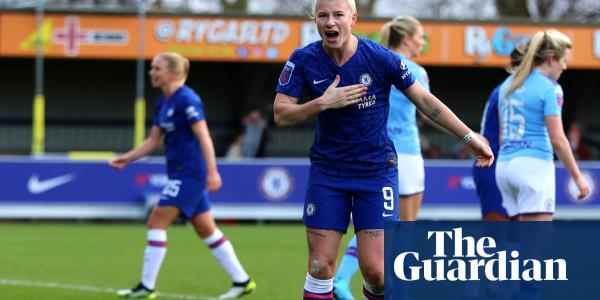 Beth England's goal helps unbeaten Chelsea overcome Manchester City