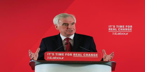 John McDonnell Predicts 'Shock' General Election Result Will Stop Boris Johnson