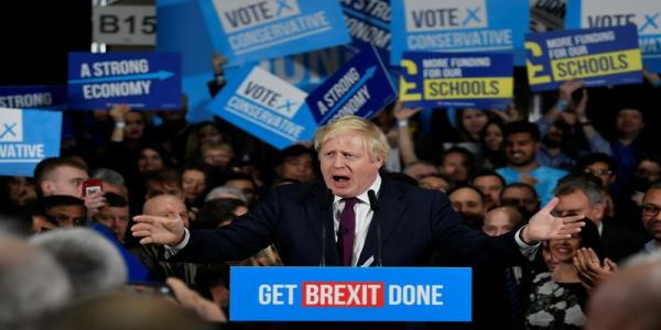 UKs Johnson on track for 24-seat majority: Focaldata