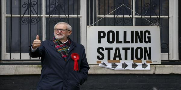 Corbyn Urged to Quit as U.K. Labour Party Faces Record Defeat