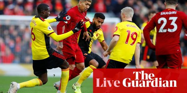 Liverpool v Watford: Premier League – live!