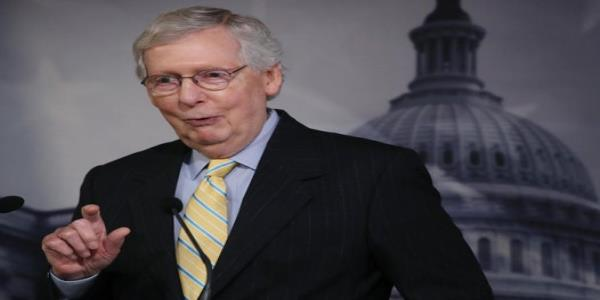 Mitch McConnell laughs about stopping Obama hiring judges, allowing Trump to fill courts with conservatives