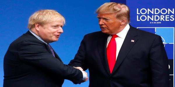 Donald Trump Invites Boris Johnson To White House Following UK Election Victory