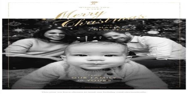 Harry And Meghan Release Christmas Card Featuring Baby Archie
