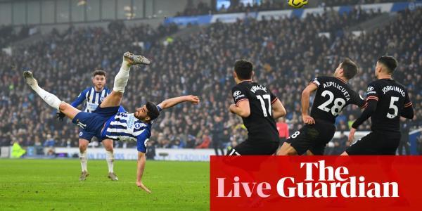 Brighton 1 1 Chelsea Premier League Live