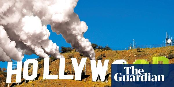 Vegan food, recycled tuxedos – and billions of tonnes of CO2: can Hollywood ever go green?