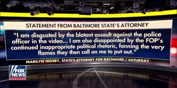 Dan Bongino responds to video of mob attacking Baltimore officer: I blame the political leaders