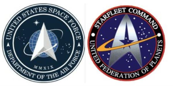 The US Space Force Has Unveiled A New Logo, And Star Trek Fans Have Something To Say About It