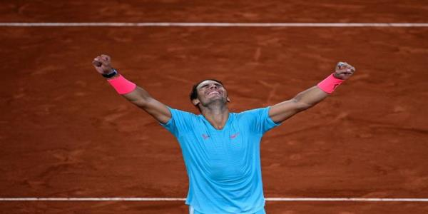 Nadal ties Federer, sets numerous other records with French Open victory
