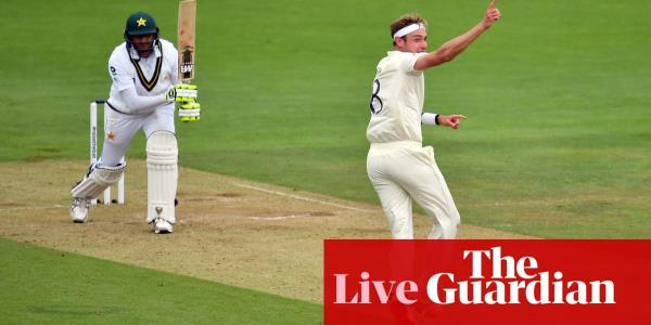England v Pakistan: second Test, day two – live!