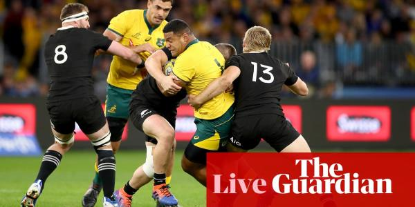 Wallabies v All Blacks: Bledisloe Cup - Rugby Championship 2019 – live!