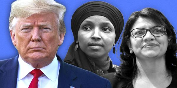 Israel bans Omar and Tlaib after Trump says it would show great weakness to let them in