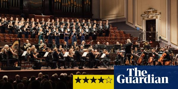 SCO/Christophers review – premiere of James MacMillans ecstatic Fifth Symphony