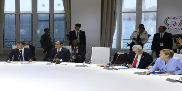 One empty chair at G-7 climate meeting: Trumps