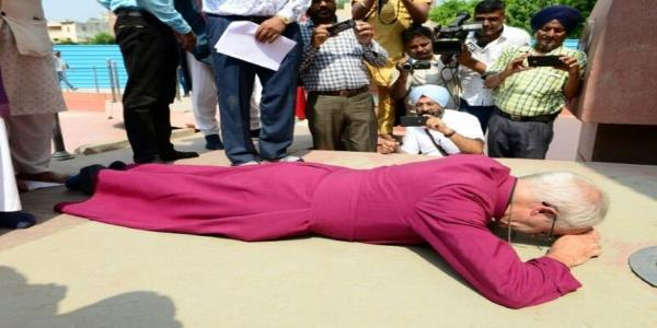 Archbishop Of Canterbury Justin Welby Prostrates Himself In Apology For British Massacre At Amritsar