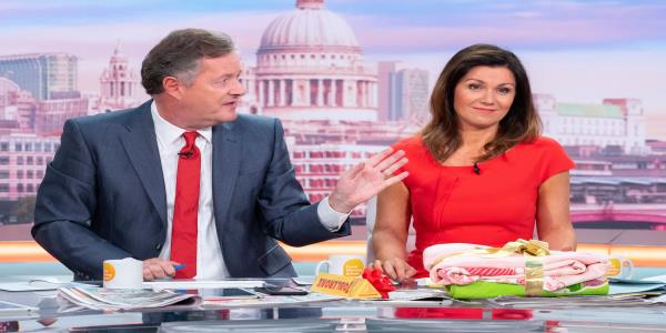 Susanna Reid And Piers Morgan Discuss Behind-The-Scenes Tension At Good Morning Britain