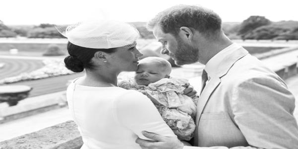 Meghan Markle Honours Prince Harrys Birthday With Previously Unseen Archie Photo