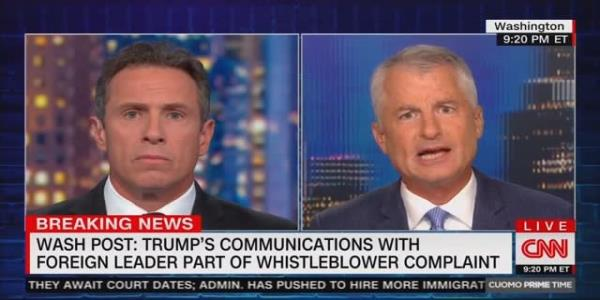 CNN Analyst Condemns Whistleblower Complaint: Intel Community Should Not 'Snitch' on Trump to Congress