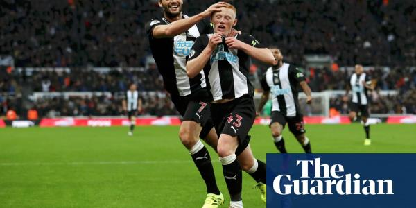 Newcastle's Matty Longstaff stuns Manchester United with goal on debut