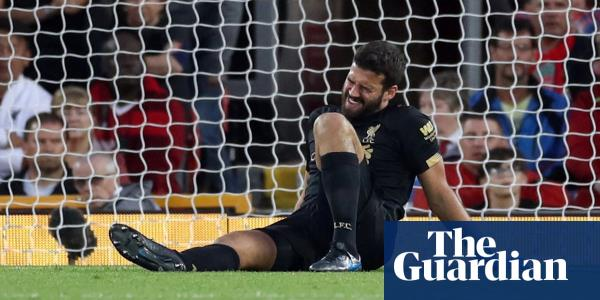 Alisson ready for injury return as Liverpool visit Manchester United