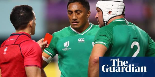 Ireland's Bundee Aki ruled out of World Cup by three-match ban