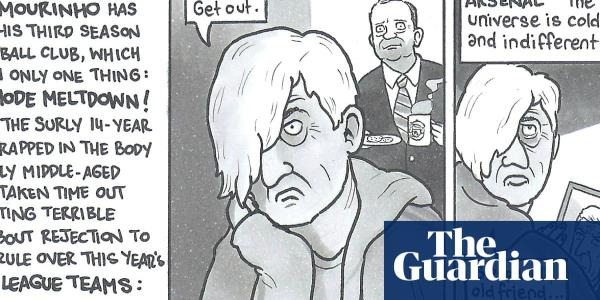 Buy a classic David Squires cartoon from our collection