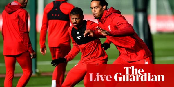 Manchester United v Liverpool buildup, team news and more – live!