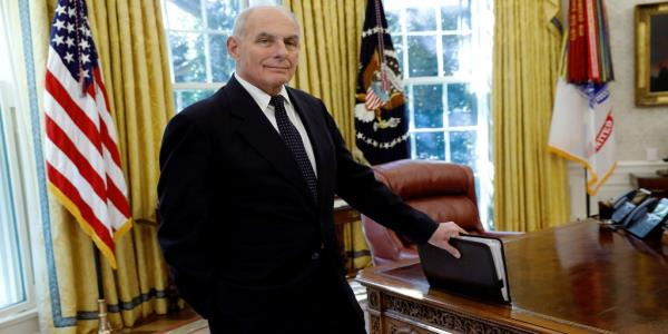 John Kelly Warned Trump He'd Be impeached If His Next Chief of Staff Was a 'Yes Man'