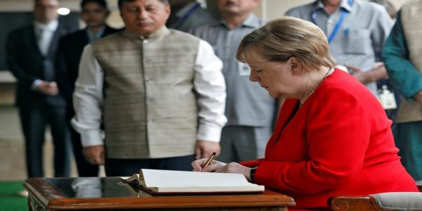 Kashmiris situation is unsustainable, Merkel says