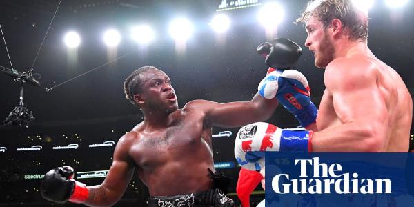 YouTuber KSI beats rival Logan Paul in boxing rematch