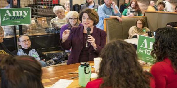 Klobuchar attacks Bloomberg and Buttigieg as Democrat infighting grows