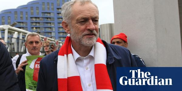 Jeremy Corbyn attacks pricing out of football fans in Premier League