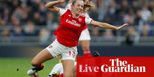 Tottenham v Arsenal: Womens Super League – live!