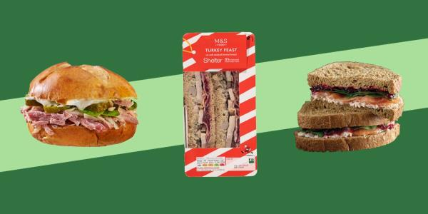 The Best (And Worst) Christmas Sandwiches On The High Street – Ranked