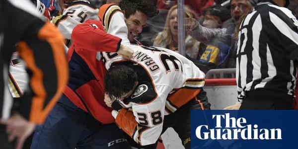 Garnet Hathaway ejected for spitting as Capitals and Ducks brawl