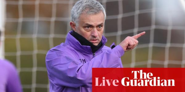José Mourinho on Tottenham job: Ive been smiling for two days – live!