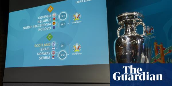 Euro 2020 play-offs: Scotland draw Israel and Belfast could host all-Irish final