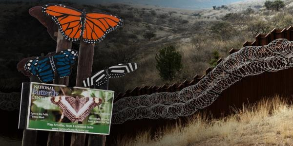 Border Wall GoFundMe Declares War on Butterfly 'Freaks' and Local Priest