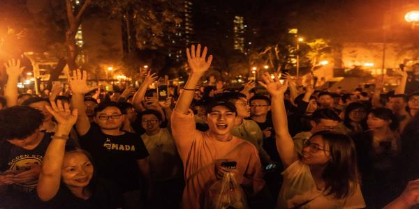 Pro-Democracy Forces in Hong Kong Bolstered by Huge Election Win