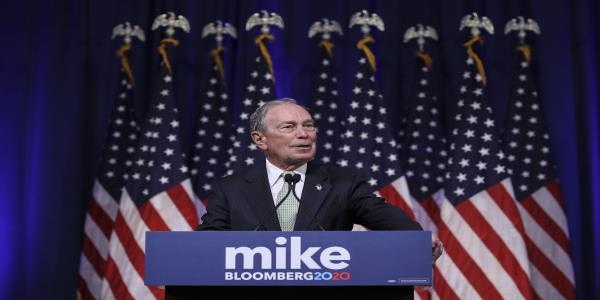 Bloomberg Says He's Running Due to 'Greater Risk' of Trump Win
