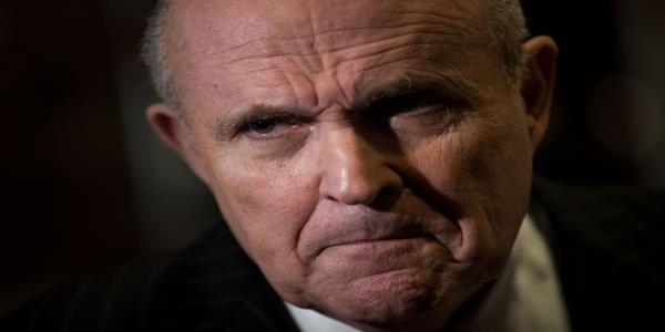 Giuliani Is in Kyiv; Ukrainian Officials Are Steering Clear