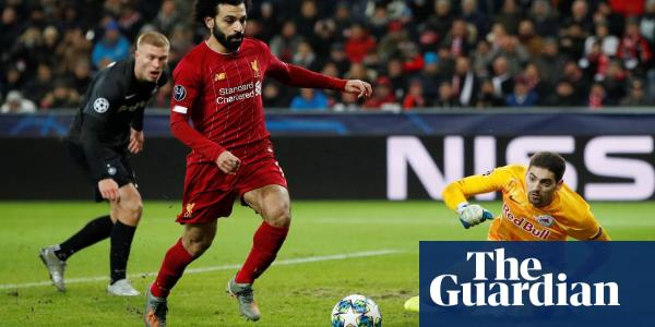 Liverpool  reach last 16 after Naby Keïta and Mo Salah douse Salzburg's fire